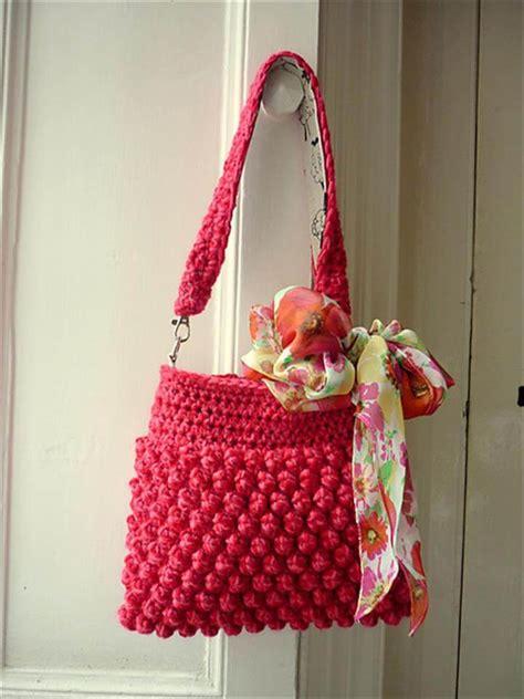 fabulous handmade crochet bag purses diy