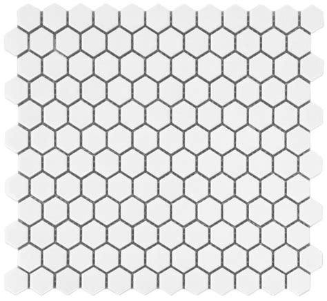 Home Depot Hexagon Marble Tile by White Hexagon Glazed Ceramic Mosaic Floor And Wall Tile
