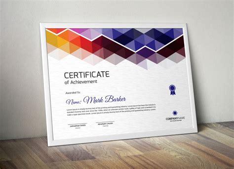 print ready certificate  attendance template