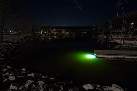 Boat Lights In Water by Led Underwater Boat Lights And Dock Lights Single Array