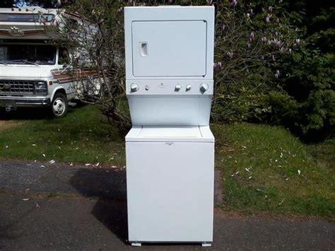 white westinghouse stacked washer dryer south nanaimo nanaimo
