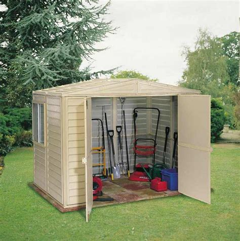 8x6 storage shed plans duramax 8x6 duramate vinyl shed with foundation 00184