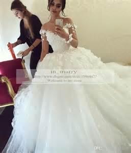 dressy dresses for weddings dress 3d flowers gown wedding dresses sleeve wedding dress luxury wedding dresses