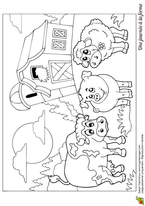 les jeux de cuisine pour fille gratuit coloriage les animaux devant la grange hugolescargot com