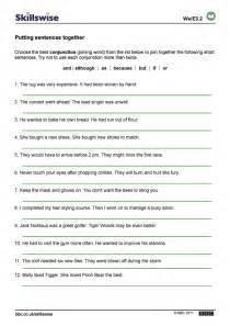6 Best Images of Printable Grammar Worksheets Sentences