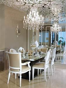 Lustre Salle A Manger : avoir une id e d co salle manger pas si difficile la preuve en 50 photos ~ Teatrodelosmanantiales.com Idées de Décoration