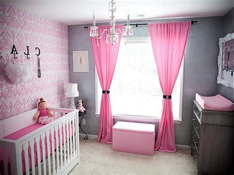 Modern Baby Girl Nursery Decorating Ideas Pictures, Unisex