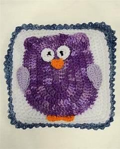 Owl Afghan Pillow Set Crochet Pattern Maggie39s Crochet