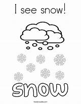Coloring Snow Snowfall Noodle 886px 92kb Drawings Twistynoodle Twisty sketch template