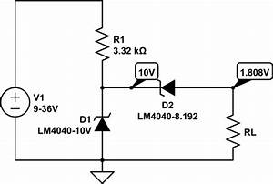 undervoltage simple zener diode circuit for uvlo With diode applications