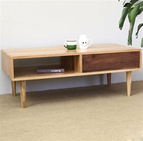 japanese style wood furniture living room coffee table
