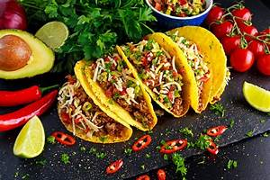 Mexican Food Delicious Taco Shells With Ground Beef And Stock Photo - Download Image Now - iStock