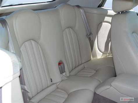 image  jaguar xk  door convertible xk rear seats