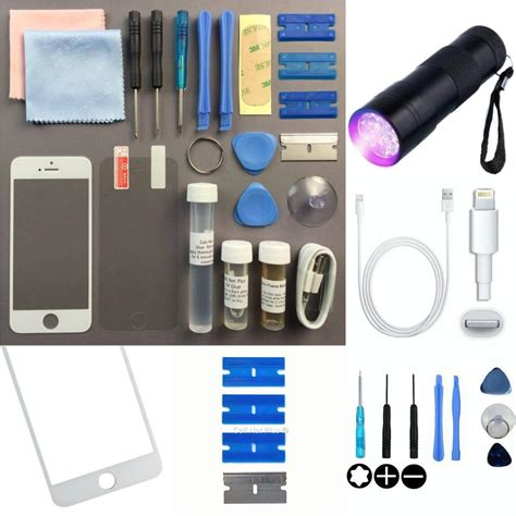 iphone 5s repair kit iphone 5s 5c 5 front outer glass screen replacement repair