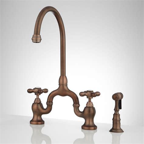 style kitchen faucet best bridge style kitchen faucet