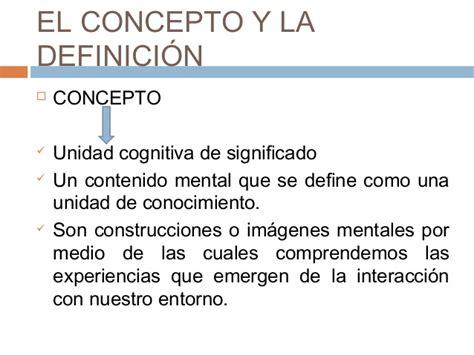 Lógica Jurídica El Concepto Y La Definición