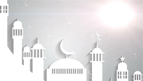 islamic ramadan  white moon stock footage video