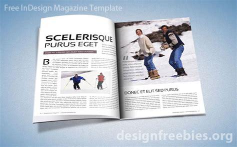 indesign magazine free exclusive indesign magazine template v 2 designfreebies