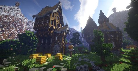 Descargar Template Render Minecraft Profesional by Athens Valley Minecraft Building Inc
