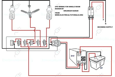 inverter connection in house wiring diagram home for