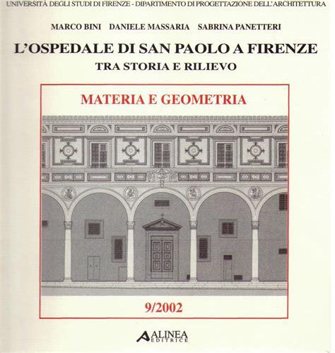 Libreria San Paolo Firenze by Libreria Della Spada L Ospedale Di San Paolo A Firenze