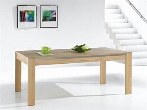 TABLE DE SALLE MANGER YUCCA Bois Deco