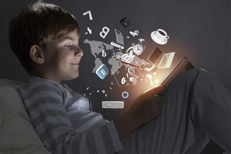 boy  computer tablet