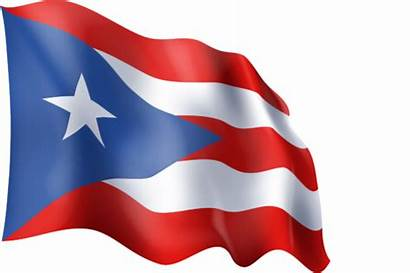 Puerto Rico Flag Waving Graphic Ingofonts
