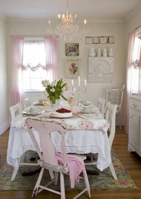 chic grey dining room 35 beautiful shabby chic dining room decoration ideas Shabby