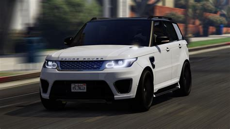 land rover sport range rover sport add on replace gta5 mods com
