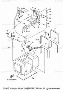 Yamaha Side By Side 2006 Oem Parts Diagram For Fuel Tank