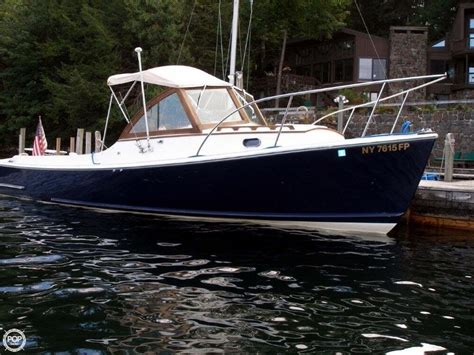 Lake George Used Boat Sales by 1999 Used Wasque 26 Downeast Fishing Boat For Sale