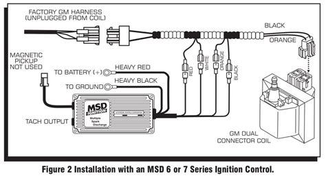 Msd 6al Wiring Diagram Chevy V 8 by Msd 9993 Streetfire Ignition Kit 88 92 Camaro Firebird V8