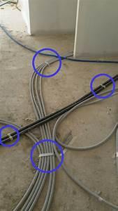 Passage De Cable Au Sol : distribution dans l 39 installation lectrique passage des ~ Dailycaller-alerts.com Idées de Décoration