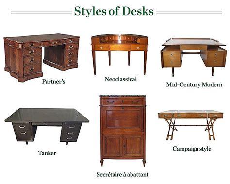 common styles  antique desks