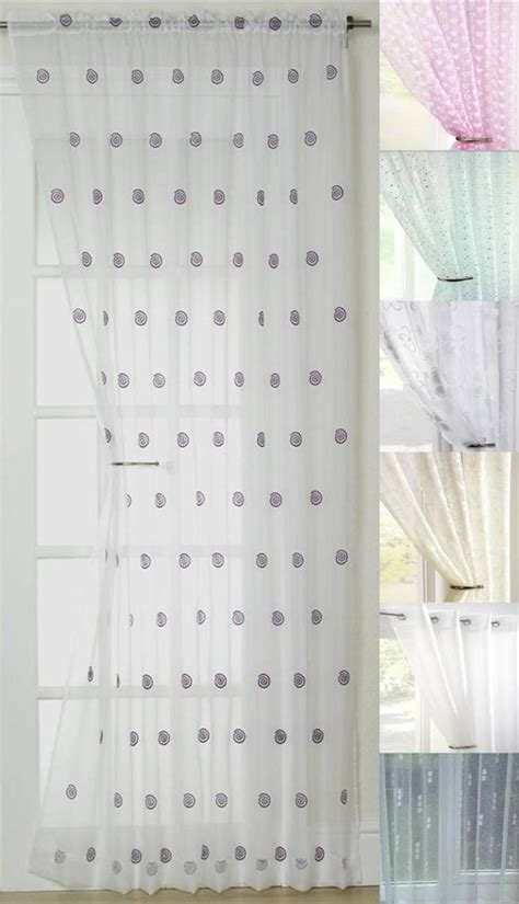 clearance sale net lace voile curtain panels eyelet