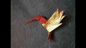 Origami Hummingbird Tutorial  By Alexander Kurth  Help With Steps 14 - 16