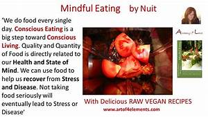 Mindful Eating ... Raw Eating Quotes