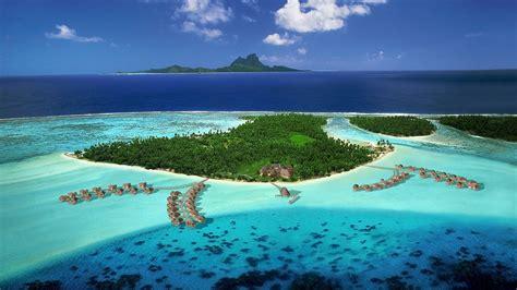 French Polynesia Resorts Wallpaper Hd 1080p Hd Desktop