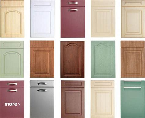 pvc kitchen cabinet doors pre made cabinet doors pvc faced mdf kitchen 4463