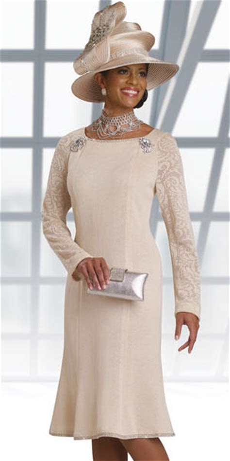 donna vinci knits  long sleeve knit church suit