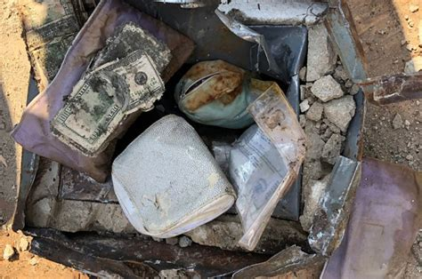 Couple Finds Stolen 'buried Treasure' In Their Back Yard