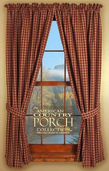 Andover Tieback Curtain Panels