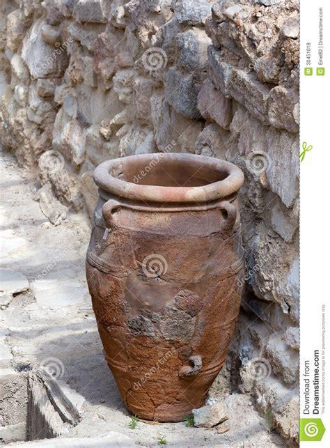 Minoan Storage Jar Knossos Stock Photo Image