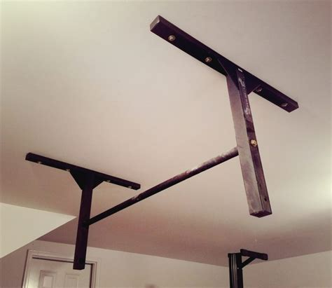 install pull up bar in garage studbar wall or ceiling mounted pull up bar review refugym