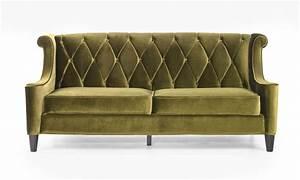 Sofa Retro : barrister retro sofa in mid century modern green velvet ~ Pilothousefishingboats.com Haus und Dekorationen