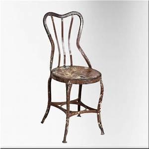 Chaise De Jardin En Fer : chaise de jardin en fer jdeco marine groupe jd production ~ Teatrodelosmanantiales.com Idées de Décoration