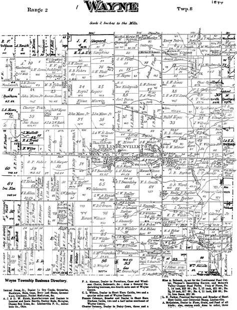 1874waynetownshipmap - cottonwoodjim