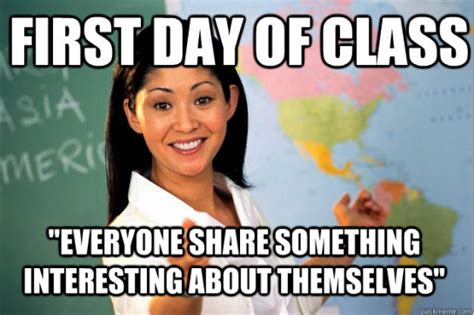 First Week Of School Meme - first day of school memes