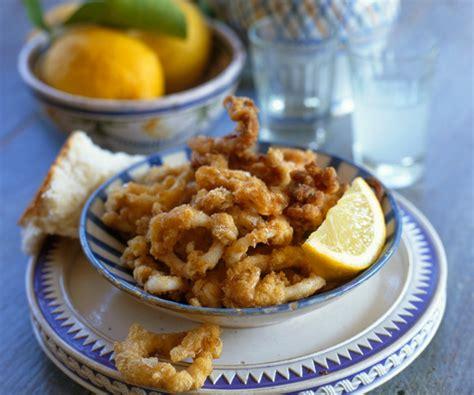 recette facile beignets de calamar